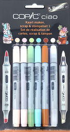 Copic Scrap & Stempelset 1