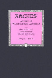 Arches Akvarellipaperi Hot Pressed