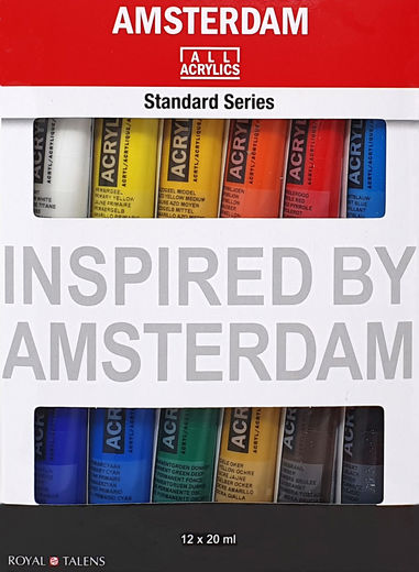 Amsterdam All Acrylics 12 x 20 ml tuubisetti