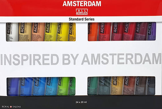 Amsterdam All Acrylics 24 x 20 ml tuubisetti