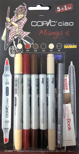 Copic Manga 5