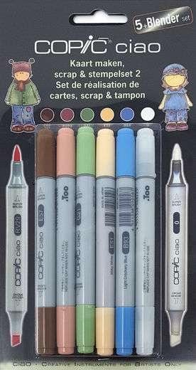 Copic Scrap & Stempelset 2