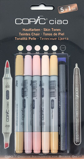 Copic Skin Tones