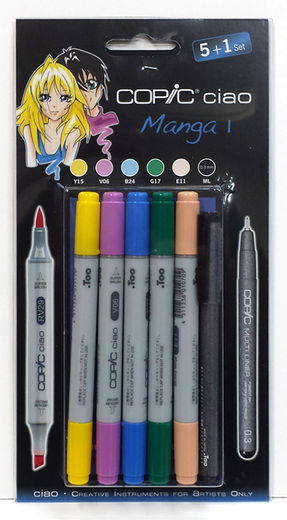 Copic Manga 1
