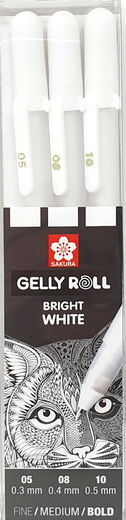 Sakura Gelly Roll Bright White