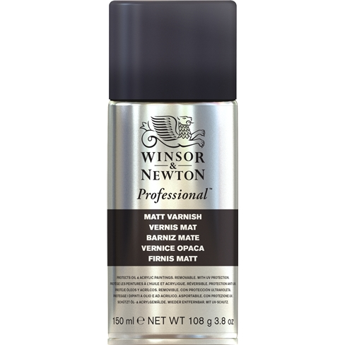 Winsor & Newton Himmeä Vernissa Spray