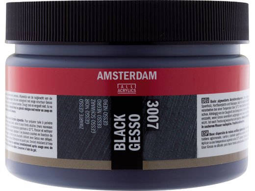 Musta Gesso Amsterdam All Acrylics